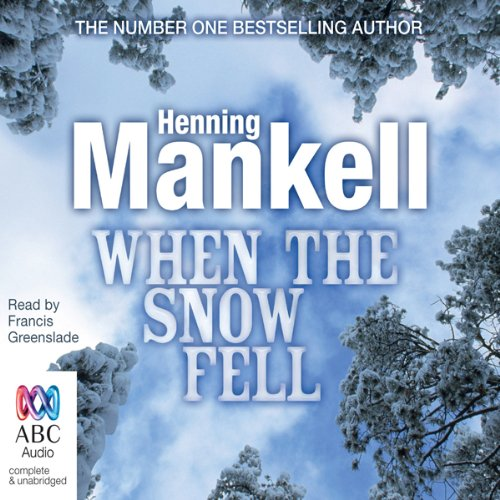 When the Snow Fell audiobook cover art