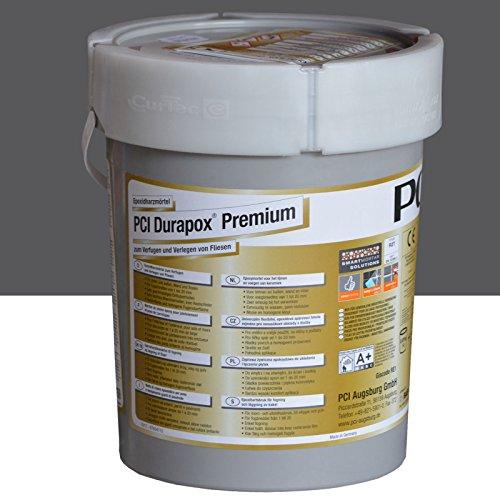 PCI Durapox Premium Reaktionsharz-Mörtel 5kg Eimer, Anthrazit