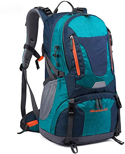 Outdoor Backpack 1 Pieces Hiking Backpack Travel Backpack Mountaineering Backpack Trekking Rucksack Outdoor Sports Backpack 50L Mountaineering Bag Men's Backpack Large Capacity Hiking Bag