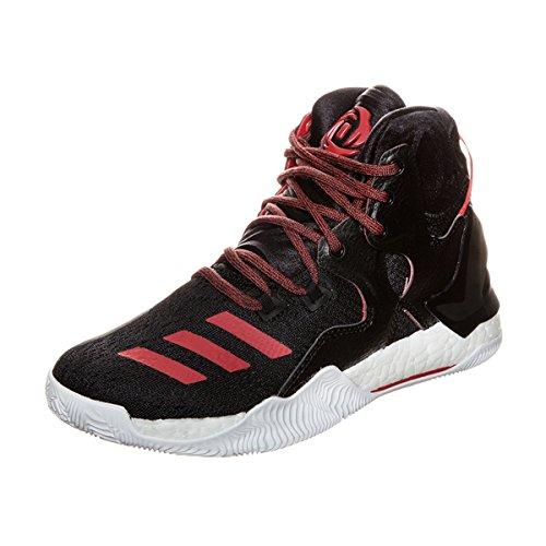 adidas adidas Unisex-Kinder Derrick Rose 7 Basketballschuhe, Schwarz, 36 2/3 EU