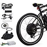 """10. Voilamart Electric Bicycle Kit 26"""" Rear Wheel 48V 1000W E-Bike Conversion Kit, Cycling Hub Motor with Intelligent Controller and PAS System for Road Bike"""