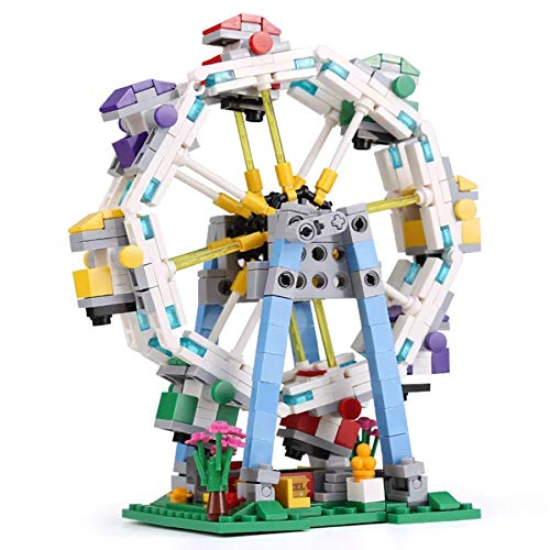 City Series Park Ferris Wheel Modelo Building Blocks Entertainment Facilitie Playgames para Niños Girls Toy Regalos (660Pcs)
