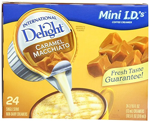 International Delight Coffee Creamer Singles CARAMEL MACCHIATO (24 servings)