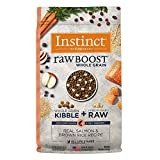 Instinct Raw Boost Whole Grain Real Salmon & Brown Rice Recipe Natural Dry Dog Food by Nature's...