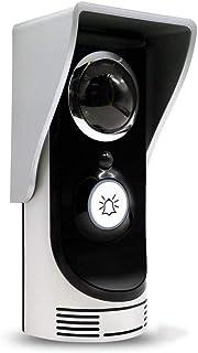 MUTANG 720P HD Video WiFi Doorbell Intelligent Real-time Network Monitoring Doorbell, Wireless HD Video Intercom Doorbell with Indoor Receiver, Night Vision