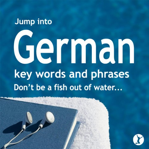 Jump into German audiobook cover art