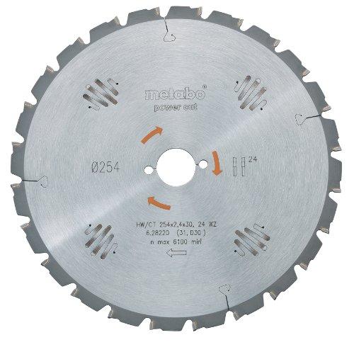 Metabo 628005000 PowerCutProf 190x30, 14 WZ 25°