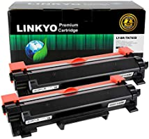 LINKYO Compatible Toner Cartridge Replacement for Brother TN760 TN-760 TN730 (Black, High Yield, 2-Pack)