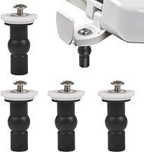 FOCCTS 4 stuks wc-bevestigingen schroeven voor wc-bril, wc-bril, deksel, wc-moeren, schroeven, wc-deksel