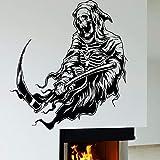 BailongXiao Calavera Pared calcomanía Muerte Halloween decoración w