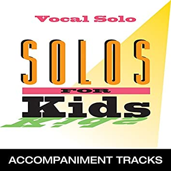 Solos for Kids (Accompaniment Tracks)