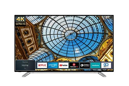 Toshiba 50UL2B63DG 50 Zoll Fernseher (4K UHD, HDR, Triple-Tuner, Smart TV, Bluetooth, HD+)