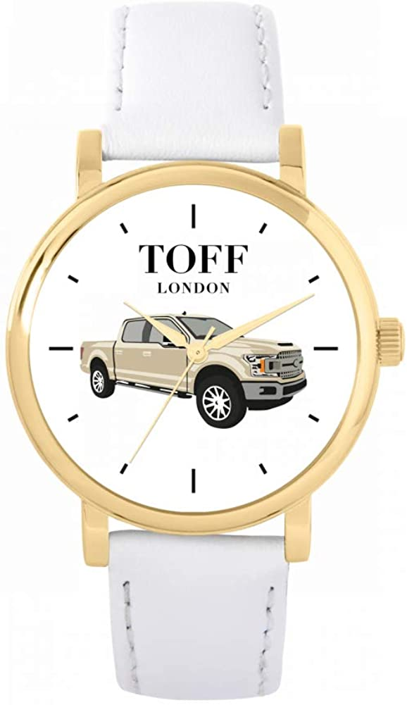 Toff London Cream 5 ☆ Bombing new work popular Pickup Watch Ladies Resis 3atm 38mm Water Case