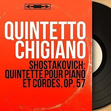 Shostakovich: Quintette pour piano et cordes, Op. 57 (Mono Version)