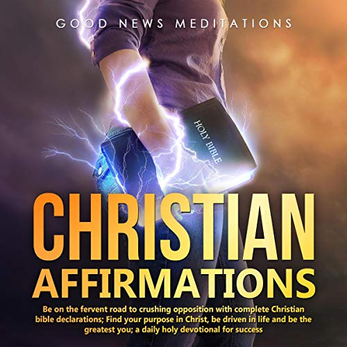 Christian Affirmations audiobook cover art