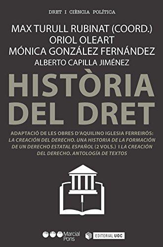 Història del dret (Manuals) (Catalan Edition)