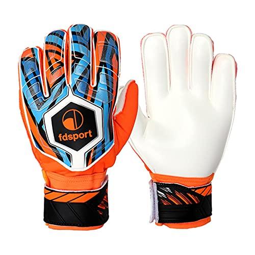 Germplasm 1 paire de gants de gardien de but pour enfants - Bonne prise en main - Excellent rembourrage - Confortable au toucher - Respirant - Protection antidérapante et résistante à l'usure