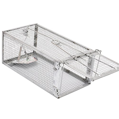Kensizer Small Animal Humane Live Cage Rat Mouse Chipmunk Trap for Indoor and Outdoor