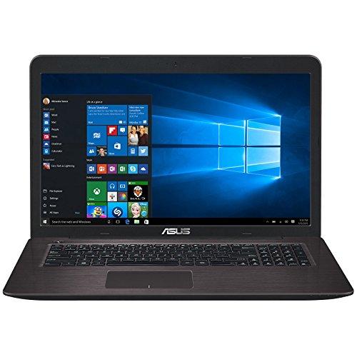 "ASUS R753UX-T4024T Braun, 17.3\"", 1920x1080, Intel Core i7-6500U, 8GB DDR3L, 1TB HDD + 128GB SSD, GeForce GTX 950M, Windows 10 Home 64bit (90NB0A31-M00250)"