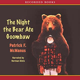 The Night the Bear Ate Goombaw audiobook cover art