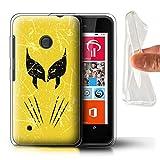 Hülle Für Nokia Lumia 530 Antiheld Comic-Kunst Wolverine