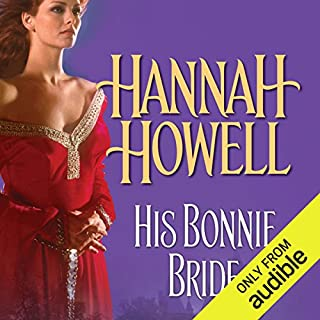 His Bonnie Bride audiobook cover art