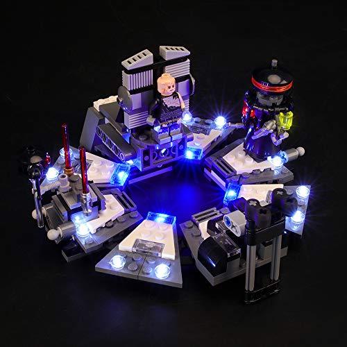 LIGHTAILING Licht-Set Für (Star Wars Darth Vader Transformation) Modell - LED Licht-Set Kompatibel Mit Lego 75183(Modell Nicht Enthalten)