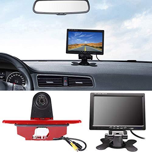 HDMEU - Telecamera di parcheggio per retromarcia, per Peugeot Expert 2007-2016/Fiat Scudo 2007-2016/Citroen Jumpy 2007-2016