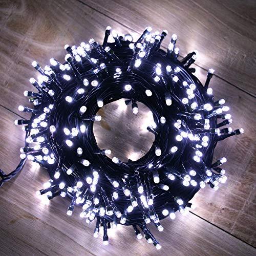 Lichtervorhang Outdoor & Indoor 10M 100 LEDs Lichterketten Weihnachtsbeleuchtung (10M100LED)