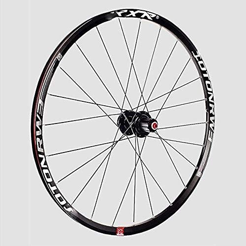 ZCBDNB Rueda De Bicicleta De Montaña, Ajuste De La Rueda De Aleación 120 Sonidos 5 Almacén Bicicleta Disco Freno De Disco Rápido Lanzamiento Negro Hub,29'