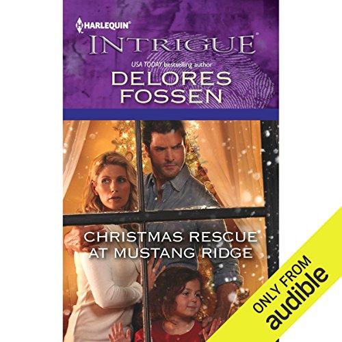 Christmas Rescue at Mustang Ridge audiobook cover art
