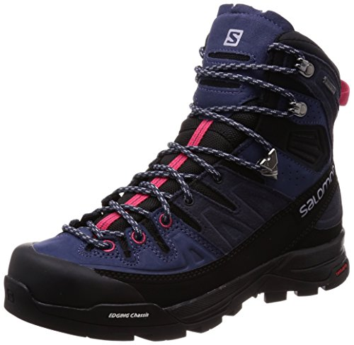 SALOMON Damen X Alp High Ltr GTX W Trekking- & Wanderstiefel, Blau (Crown Blue/Graphite/Virtual Pink 000), 40 2/3 EU