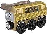 Trenino Thomas- Locomotiva Diesel 10 Treno in Legno Giocattolo, FHM32