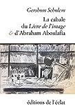 La cabale du Livre de l'Image et d'Abraham Aboulafia : Chapitres de l'Histoire de la Cabale en Espagne