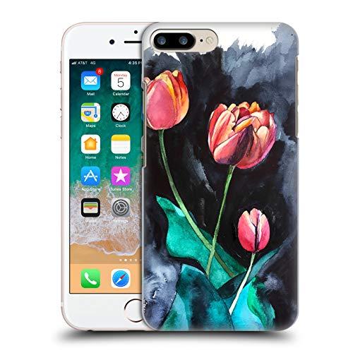 Head Case Designs Licenza Ufficiale Mai Autumn Tulipani di Notte Boccioli di Fiori Cover Dura per Parte Posteriore Compatibile con Apple iPhone 7 Plus/iPhone 8 Plus