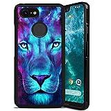 Lion Wallpaper Cell Phone Case Compatible Google Pixel 2 XL 6'