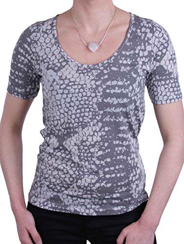 JETTE Joop Damen Shirt T-Shirt Kurzarm Grau Tiermuster Gr. 38#22(38)