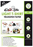 Crazy Sutra A4 size Inkjet Print Iron On Tshirt Transfer Paper for Light