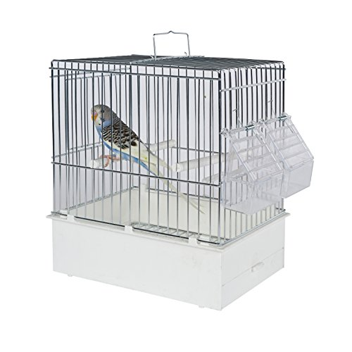 Pet Ting Vogel Transport kooi XL – Vogel Travel Kooi – Finch – kanarievogels, golfzitje etc.