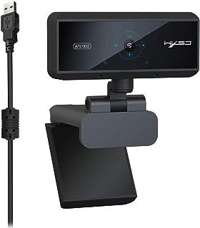 SHUHAN Webcam Web Camera 5.0 Mega Pixels 1080P HD Auto Focus Video Webcam Computer Audio Video Accessory