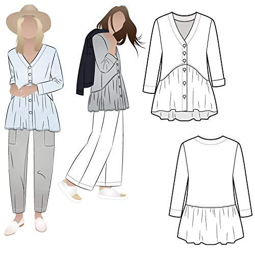 Style Arc Sewing Pattern - Jules Woven Tunic (Sizes 10-22)