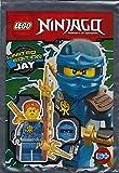 CAGO Sconosciuto Blue Ocean - Lego Ninjago - Figura da Collezione Jay