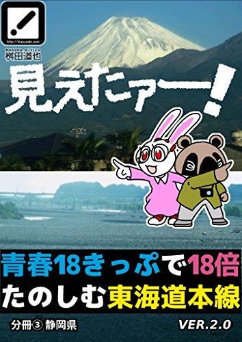 It was visible: The vistas of Tokaido Line at Japan Railways: separate volume #3 Shizuoka (Japanese Edition)