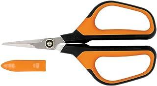 Fiskars 399230-1001 Micro-Tip Pruning Shears, Orange/Black