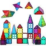 Shapemags 60 Piece Set Magnet Building Tiles Magnetic...