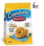 6x Balocco Ciambelle Kekse zum Frühstück 700 g biscuits cookies kuchen