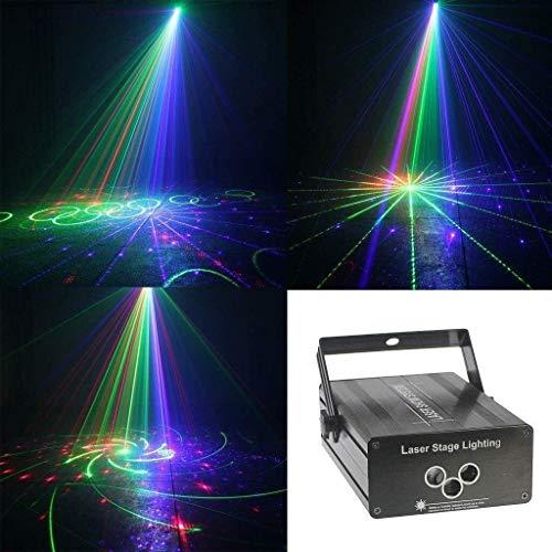 Bühnenbeleuchtung Bühnenlicht-LED-Disco-Licht bewegliche magische Kugel Bunte Effekt Bühnenlampe Dj Licht-Feiertags-Geburtstag, Haus Urlaubsstimmung Lichter ANGANG
