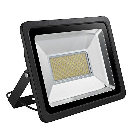 LED Strahler 10W 20W 30W 50W 100W 150W 200W 300W 500W 800W 1000W Warmweiß LED Wandstrahler Lampe Außenstrahler Aluminium Flutlicht Fluter 220V IP65 (1 Stück, 200W)