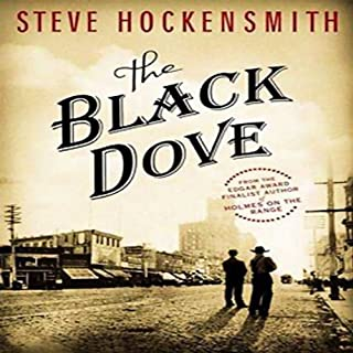 The Black Dove audiobook cover art