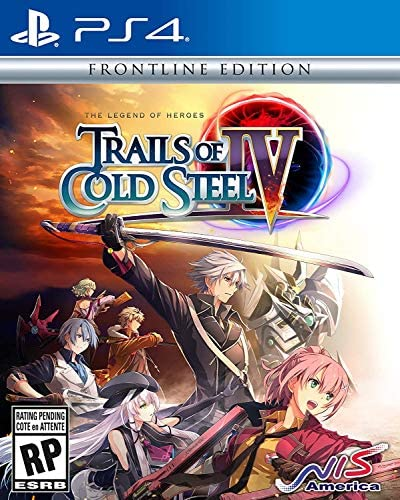 The Legend of Heroes Trails of Cold Steel IV Frontline Edition PlayStation 4 product image